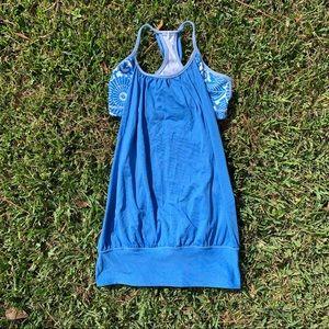 BNWOT blue lululemon workout tank💙🤍
